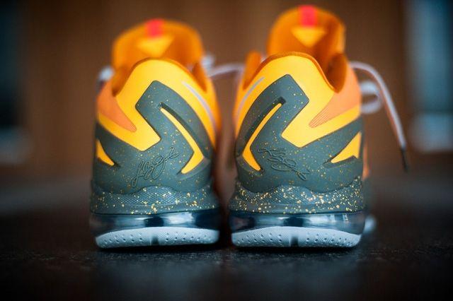 Nike Lebron 11 Low Atomic Mango Bump 5