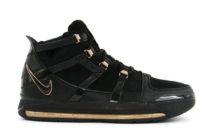 Nike Zoom Lebron 3 Black Gold Sneaker Freaker 4