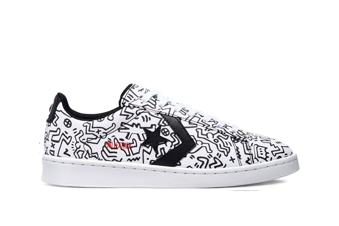 Keith Haring x Converse Pro Leather