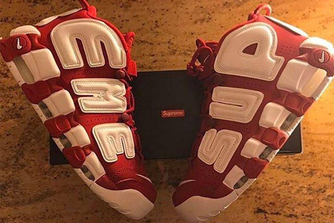 Supreme Nike More Uptempo Suptempo