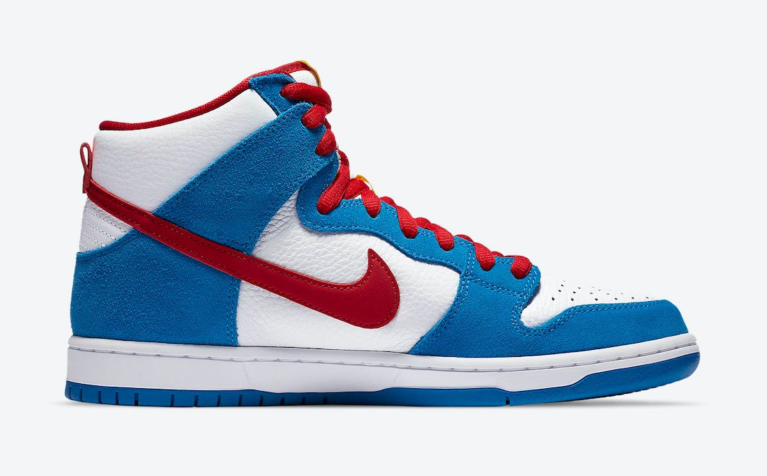 Nike SB Dunk High Doraemon Right