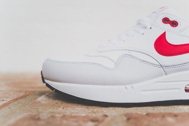 Nike Air Max 1 Leather Og White Uni Red 2