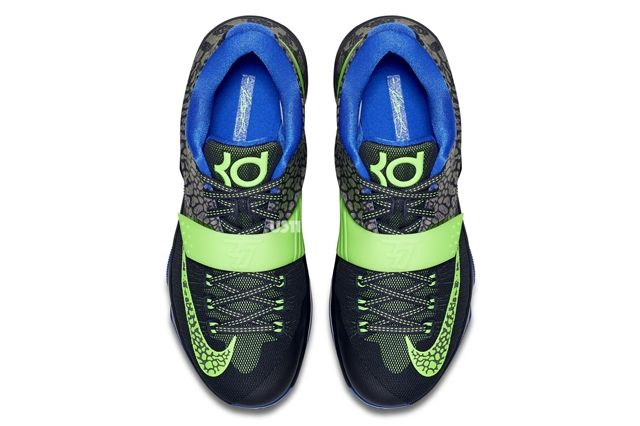 Nike Kd 7 Black Green Blue 51