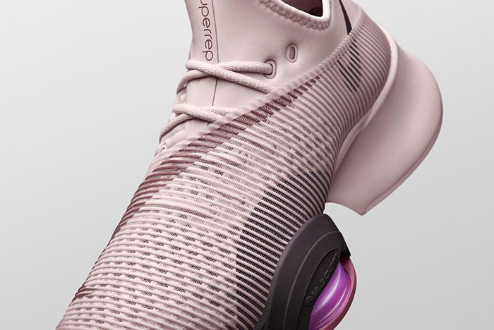 Nike Air Zoom Superrep Pink Upper Detail