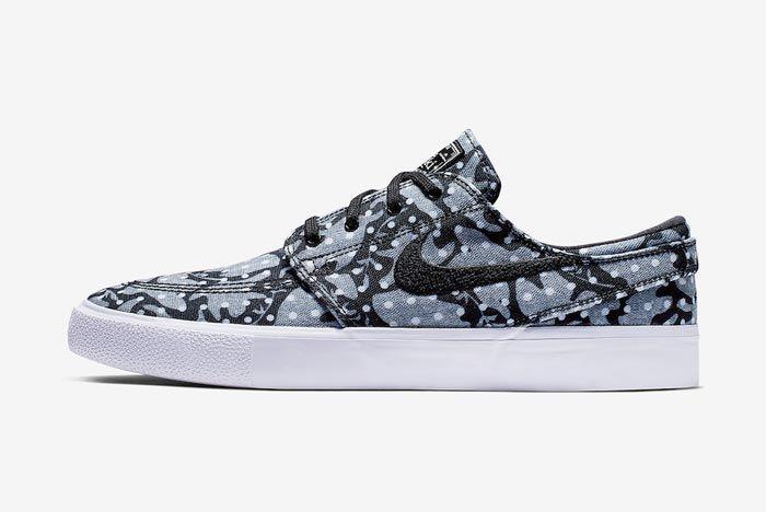 Nike Sb Janoski Camo Dots Lateral