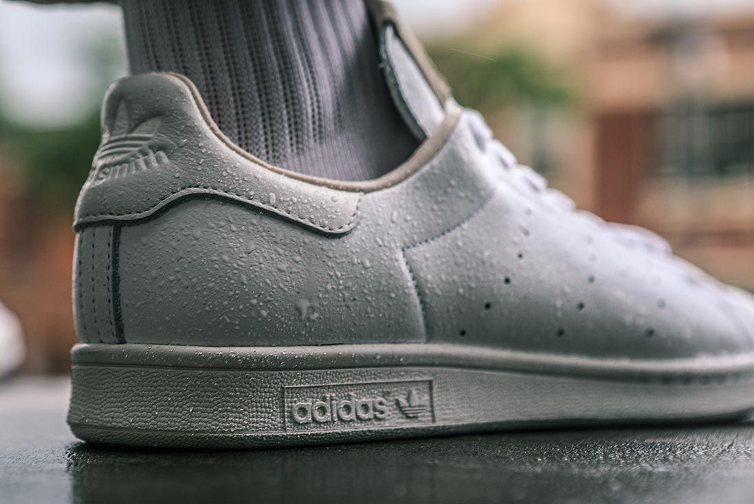 Adidas Stan Smith Home Of Classics On Foot Heel Detail
