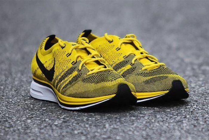 Nike Flyknit Racer Bright Citron 8