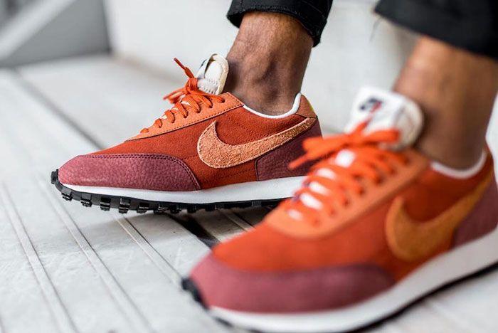 Nike Daybreak Rugged Orange Cu3016 800 On Foot Medial Detail
