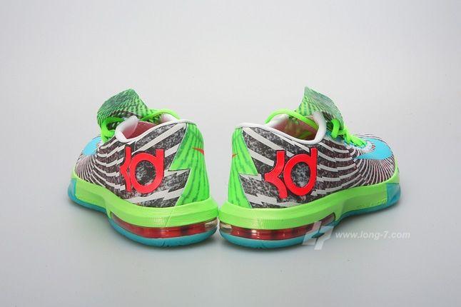 Nike Kd Vi Supreme Dc Heat Pack Heel Profile 1