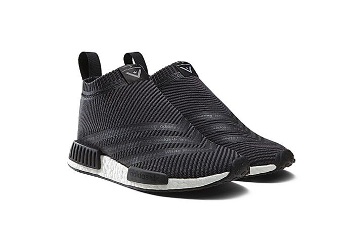 White Mountaneering Adidas Wm Nmd City Sock Black 1
