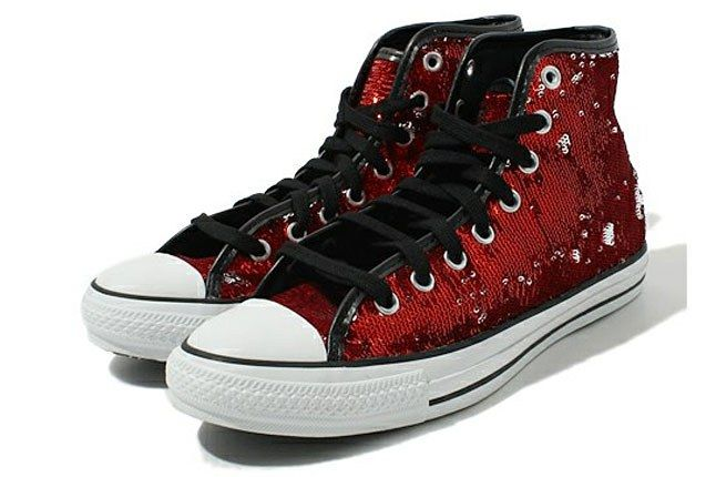 Converse Chuck Taylor Sequins Red 1