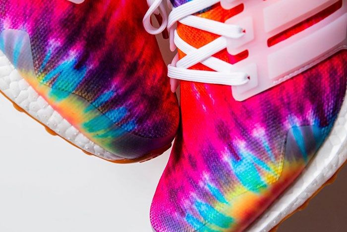 Nice Kicks Adidas Ultra Boost Woodstock Tie Dye Release Date 3 Close Up