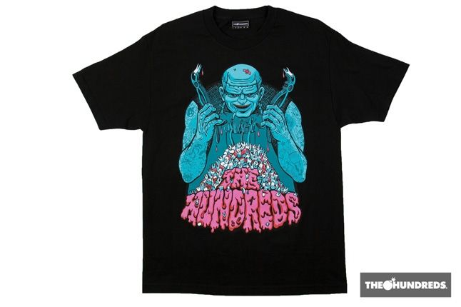 The Hundreds Teeth Tee 1