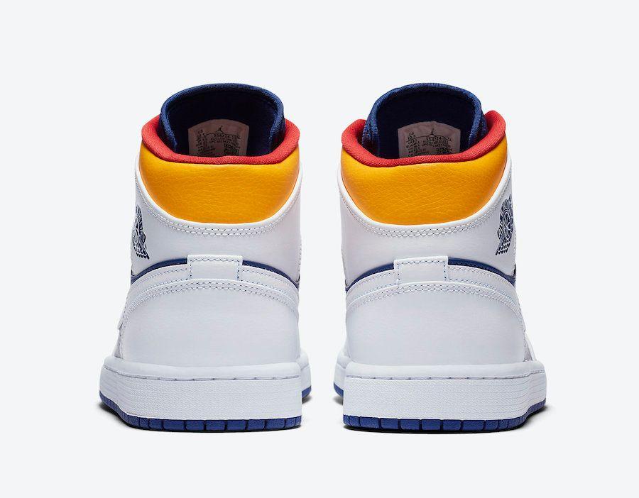 Air Jordan 1 Mid Heel