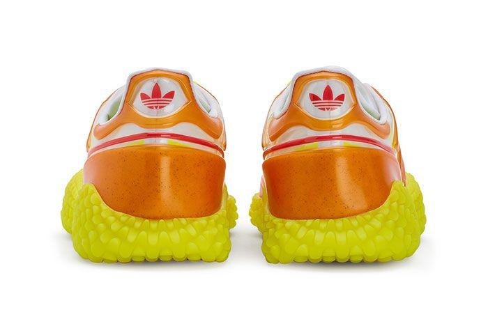 Craig Green Adidas Kamanda Dover Street Market Orange Heel Shot