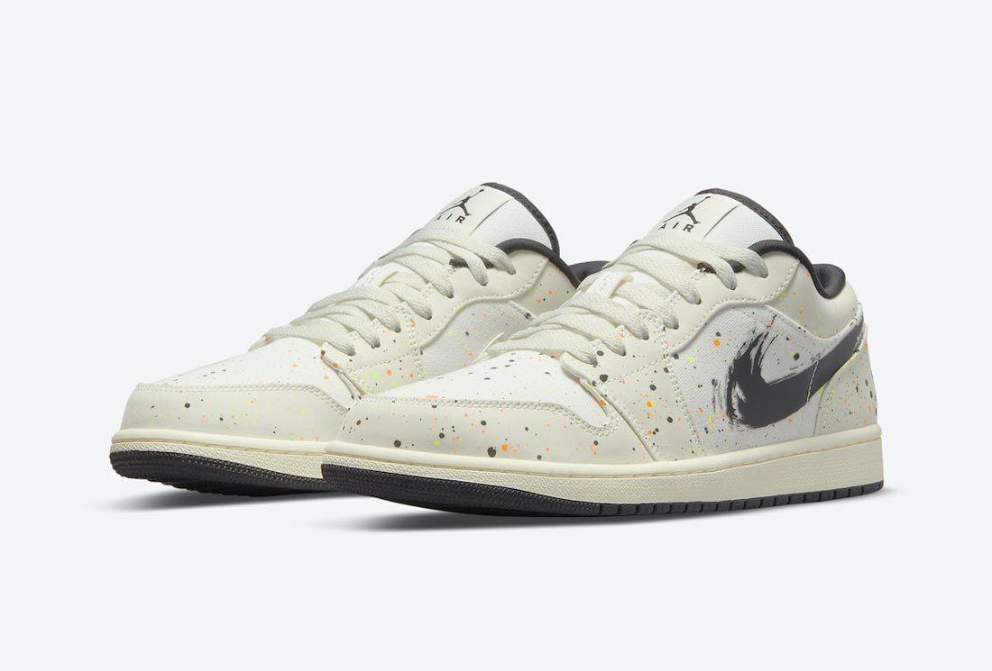 Air Jordan 1 Low 'Paint Splatter'