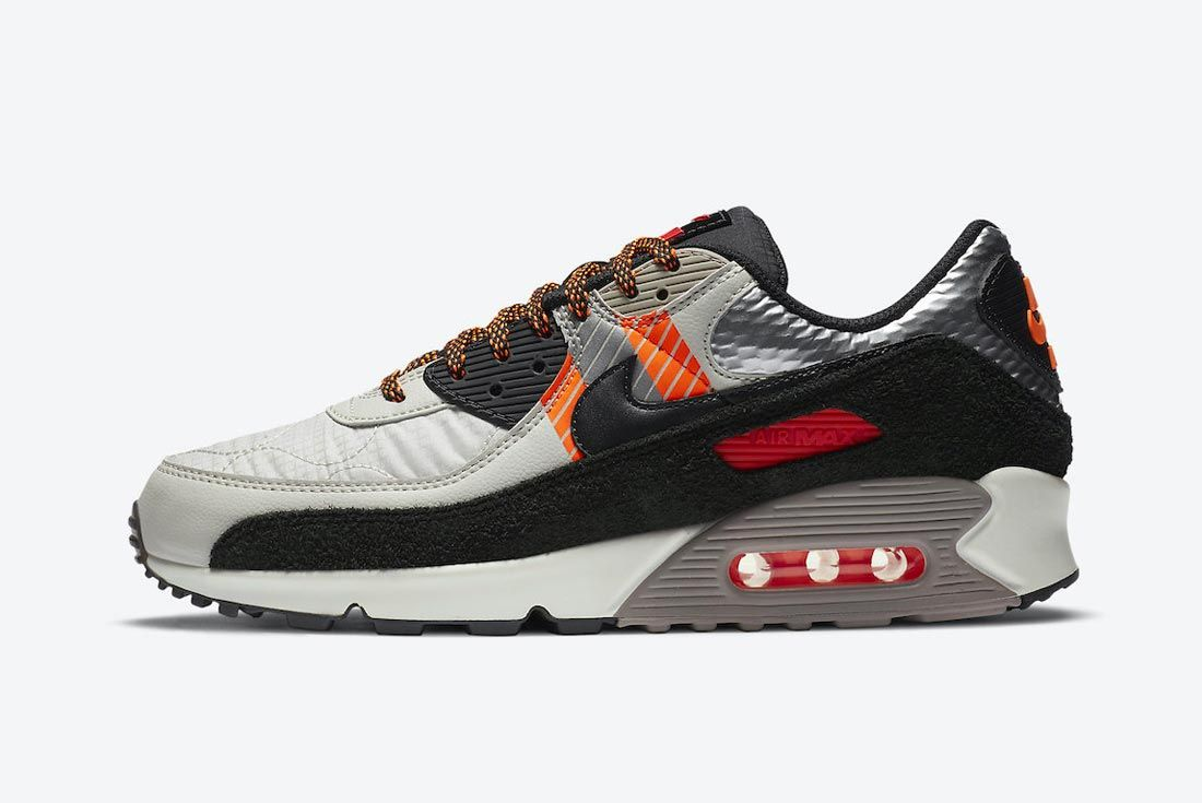 Nike's 3M Collection Expands with Orange Accented Air Max 90 ...