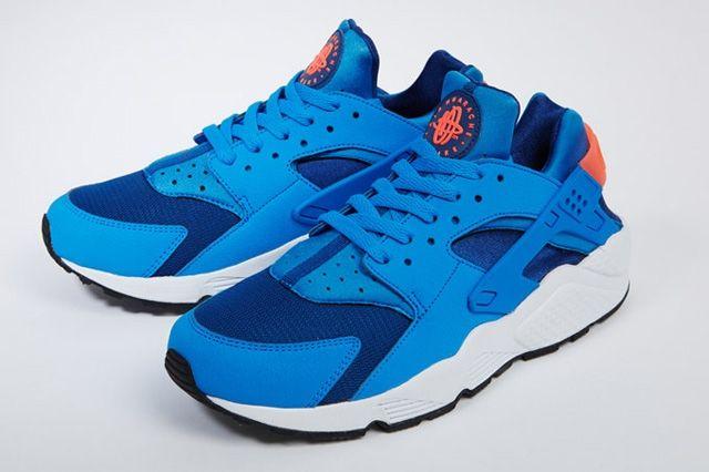 Nike Air Huarache Gym Blue Mango 6