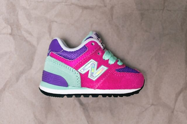 New Balance Toddler 574 Hologram Pack 3