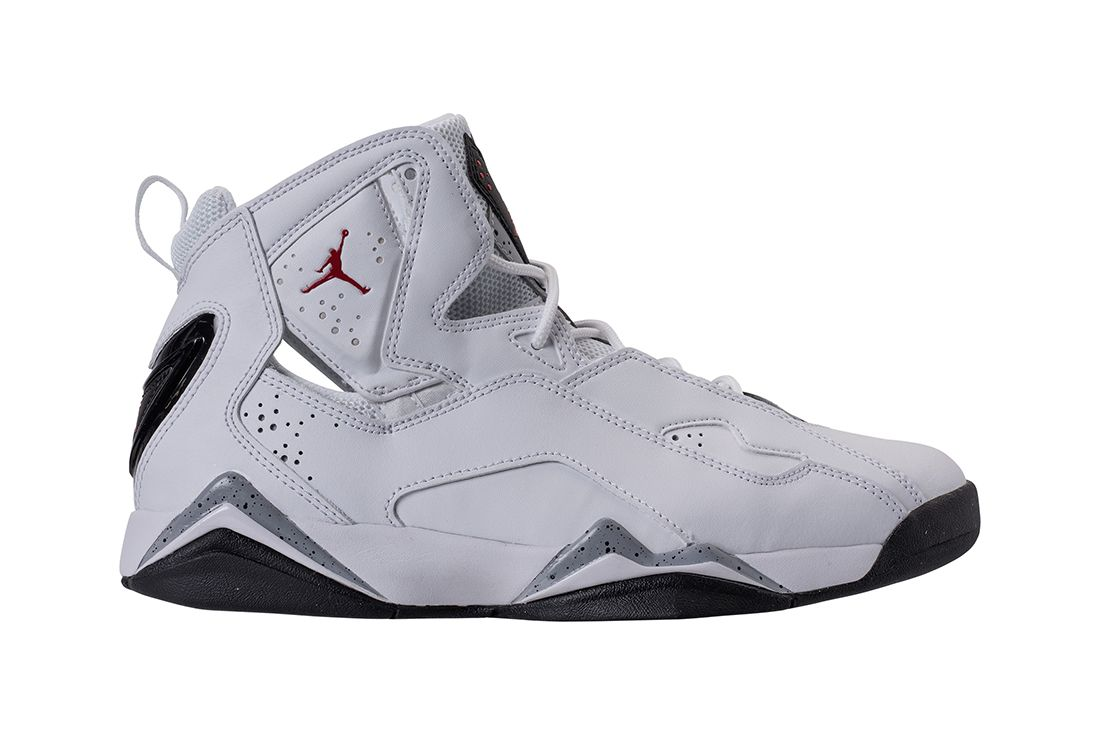 Jordan True Flight Channels ' White Cement' Vibes