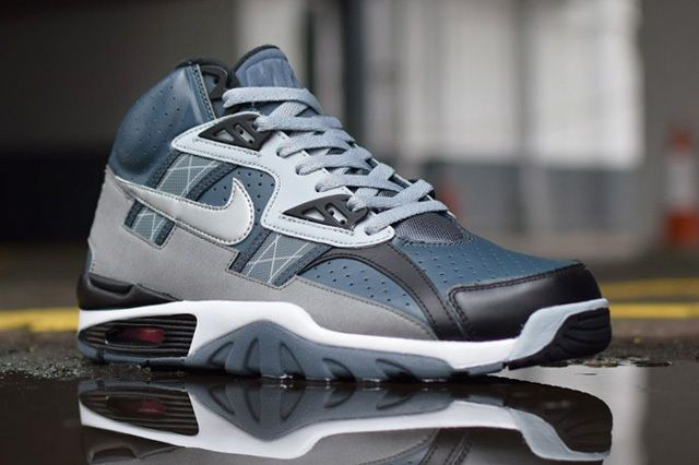 Nike Air Trainer Sc Grey Black Light 6