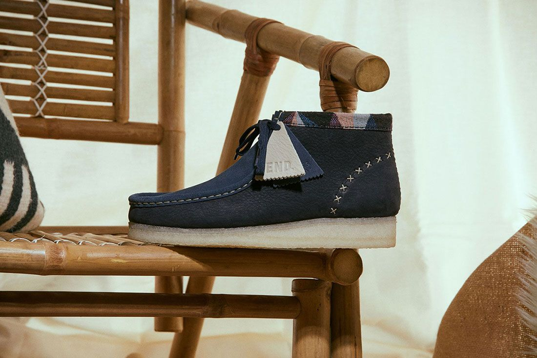 END. x Clarks Wallabee Boot
