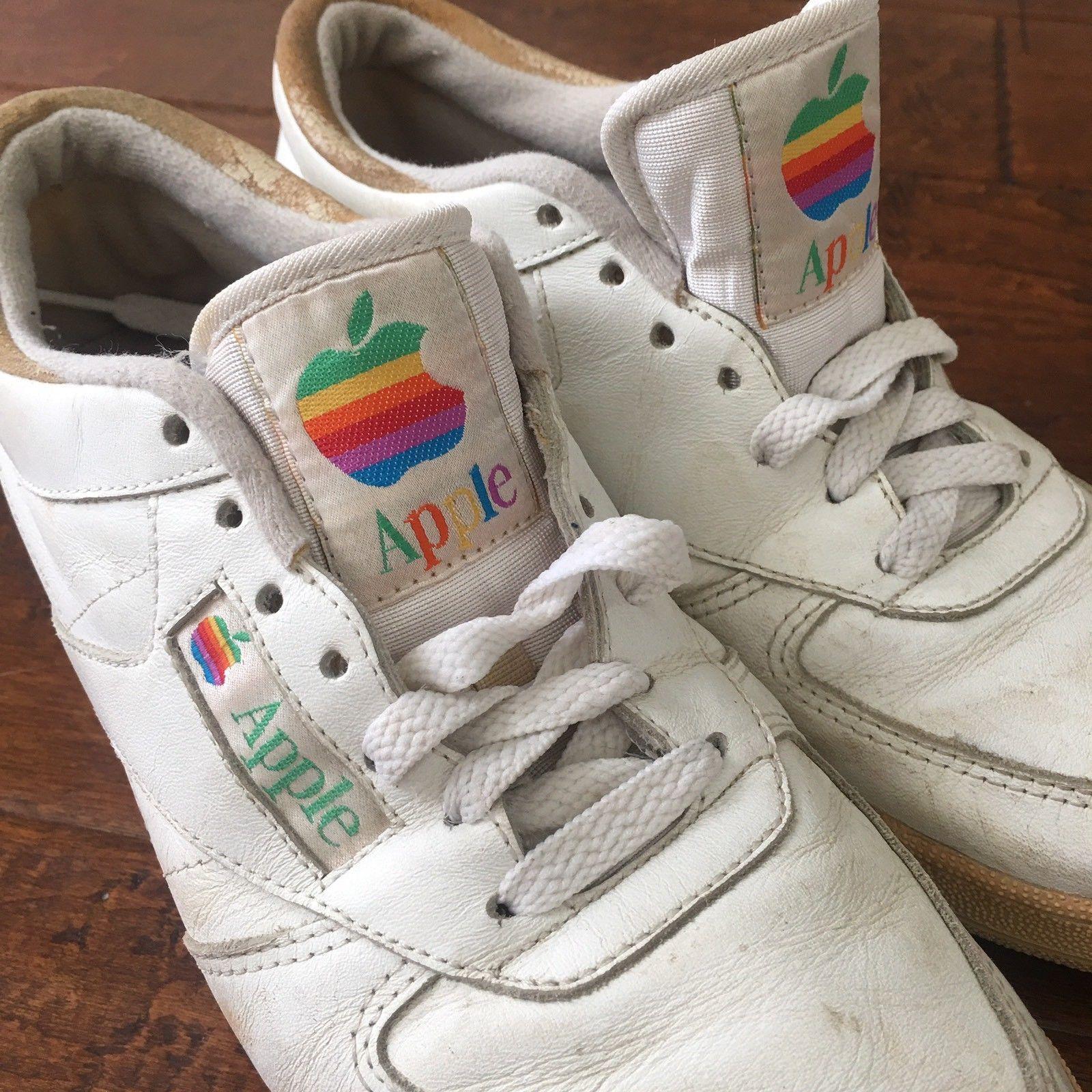 Apple Sneaker Logo