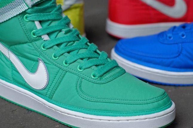 Nike Vandal Supreme Green Toe Detail 1