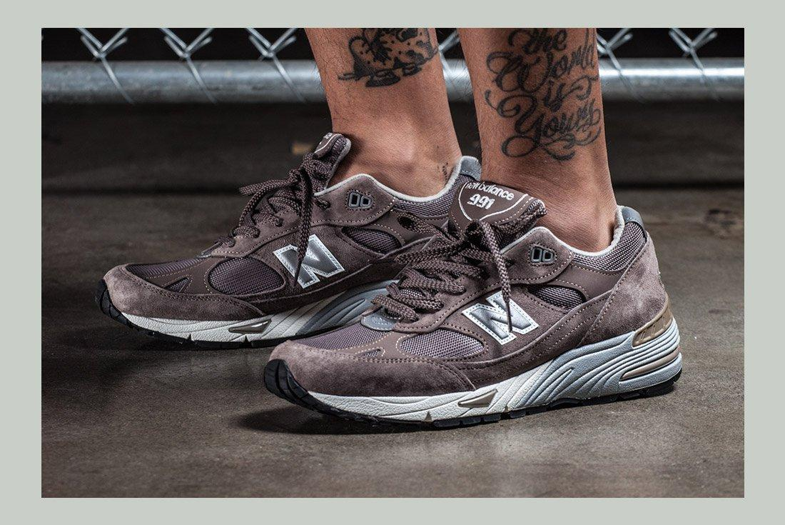 History Of New Balance 991 On Foot 1