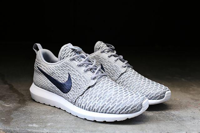 Nike Flyknit Roshe Run Grey