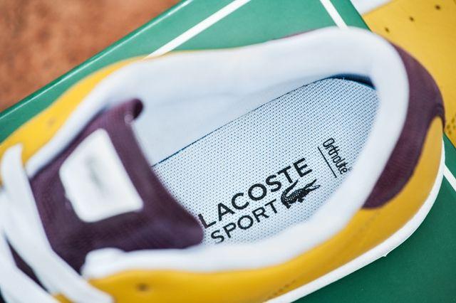 Lacoste Court Attack Purple Yellow 6