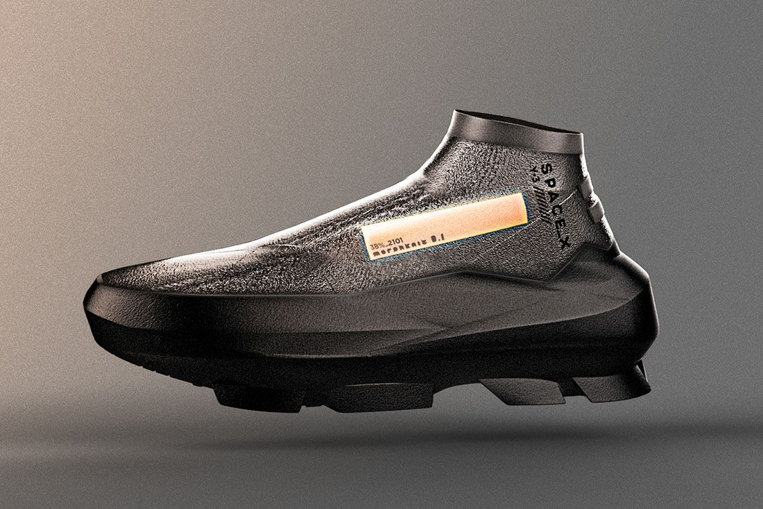 Y3 Spacex 2019 Sneaker Tech 1