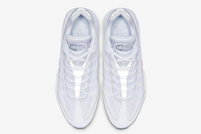 Nike Air Max 95 Essential White 749766 115 Top Down