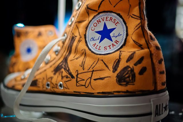Converse And Warner Music In Their Shoes Charity 12