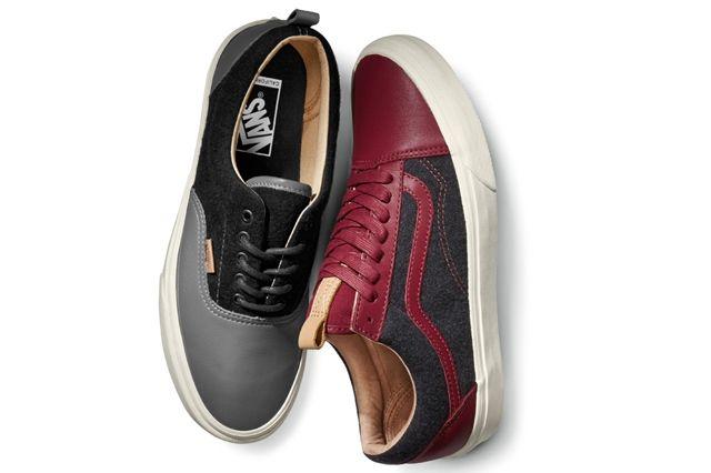 Vans Leather Wool 6