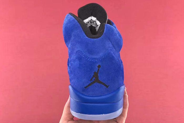Air Jordan 5 Blue Suede14