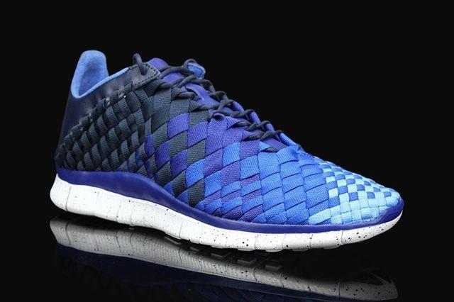 Nike Free Inneva Woven Obsidian Deep Royal Blue 4