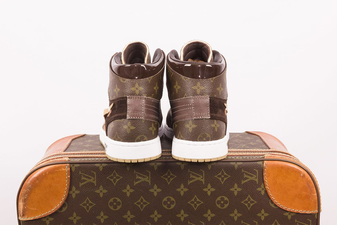 Off White X Louis Vuitton Off Louis Air Jordan 1 Custom 6