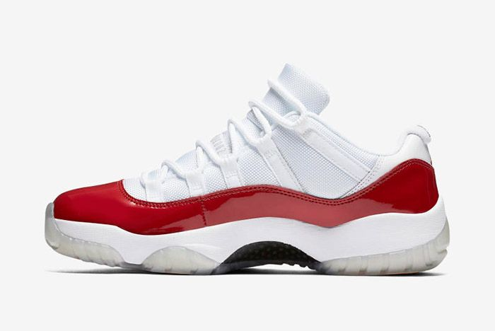 Jordan 11 Low Cherry 4