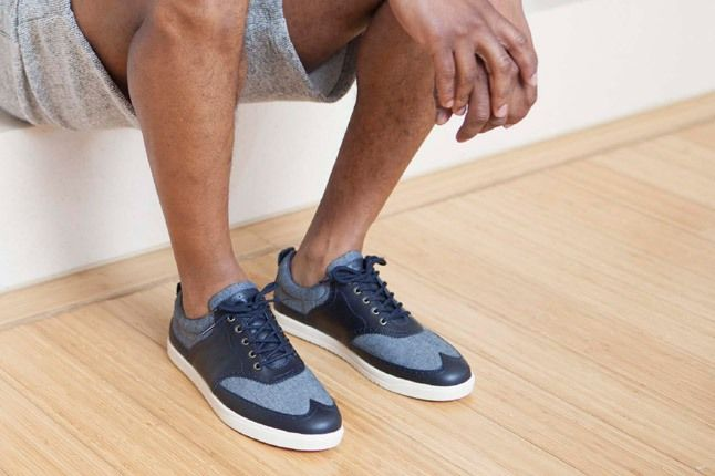 Clae Spring Collection Blue Bowling Sneaker 1