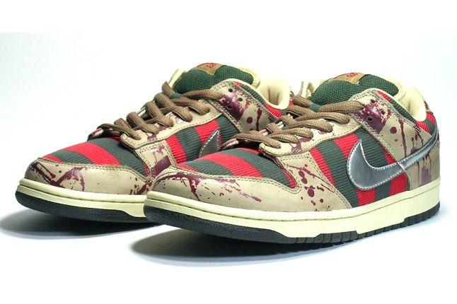 Nike Dunk Sample Freddy Krueger Pair 2 1