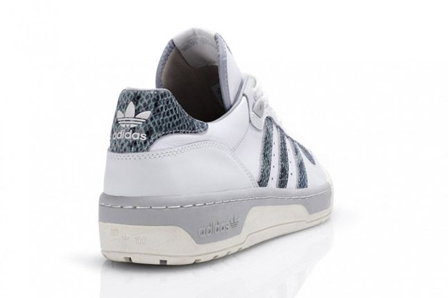 Grey Adidas Rivalry Lo Limited Edition Quater Back 1