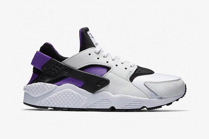 Nike Air Huarache Run 91 Qs 2018 Purple Punch 1