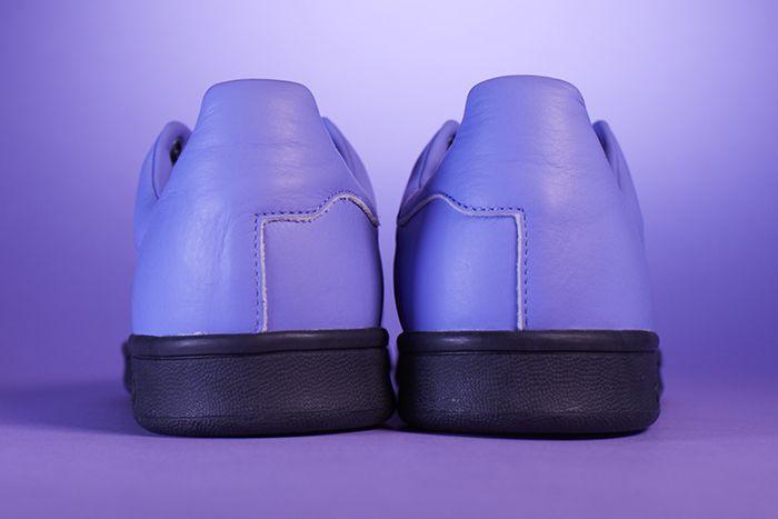 Fucking Awesome Adidas Skateboarding Stan Smith Purple Release Date Heel