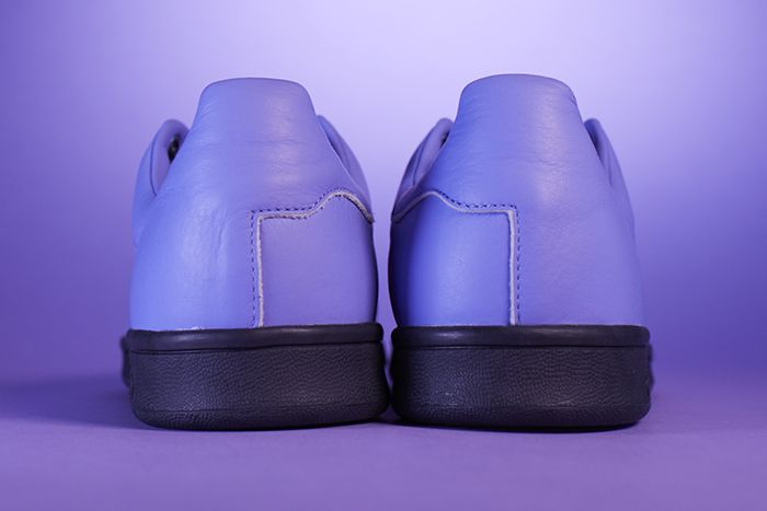 Fucking Awesome Adidas Skateboarding Stan Smith Purple Release Date Heel