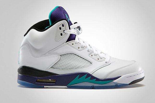 Jordan 5 Grape Side 1
