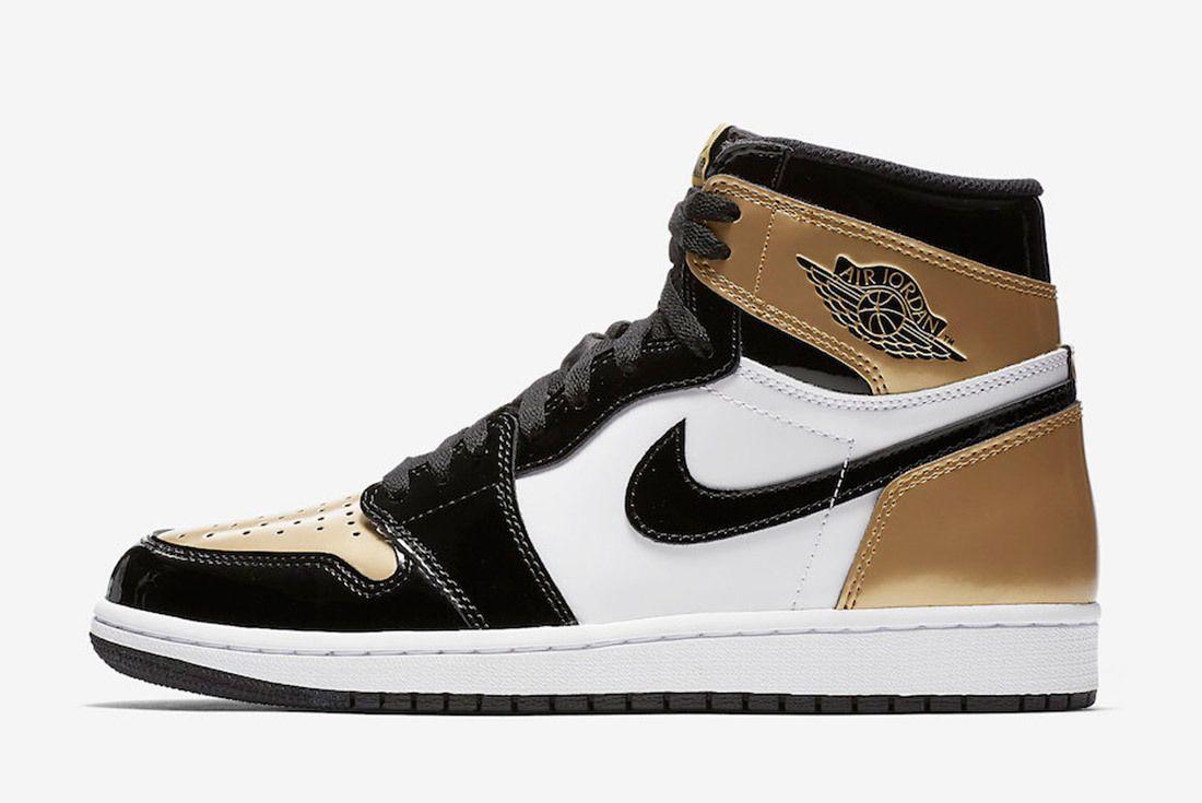 Gold Toe Air Jordan 1 861428 007 Sneaker Freaker 2