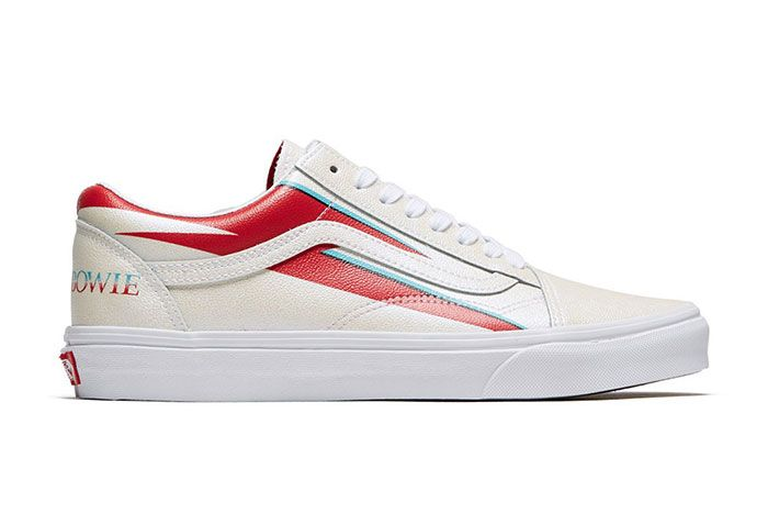 David Bowie Vans Collaboration Capsule Collection Old Skool Right