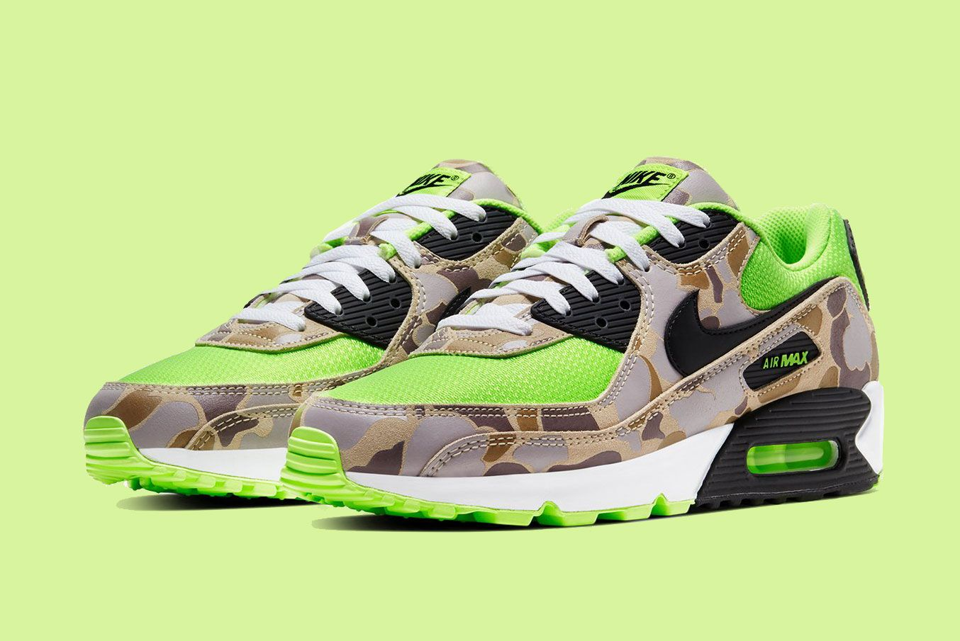 Nike Air Max 90 'Duck Camo Volt'