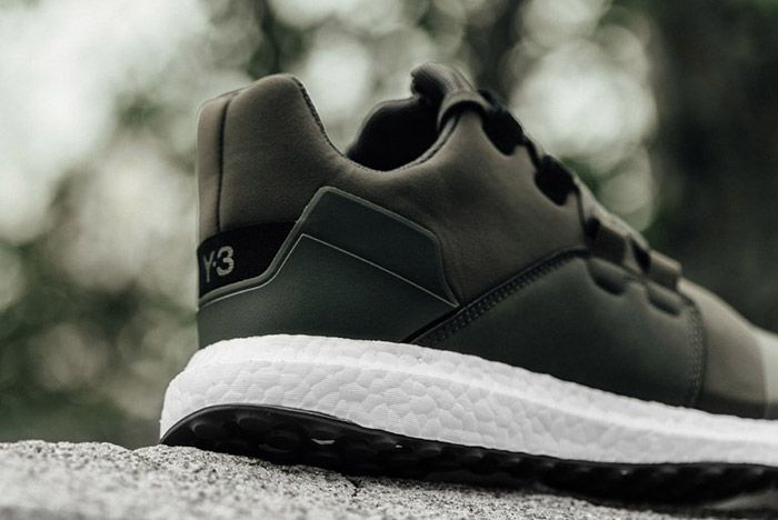 Adidas Y3 Kozoko Low Black Olive 1